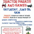 tractor parade poster
