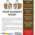 algoma power meeting poster pic