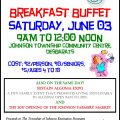 Breakfast buffet poster pic