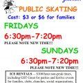 public skating poster 17-18