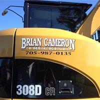 brian cameron excavating