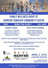 Family Fitness Night Johnson Township Community Centre (4) (1)